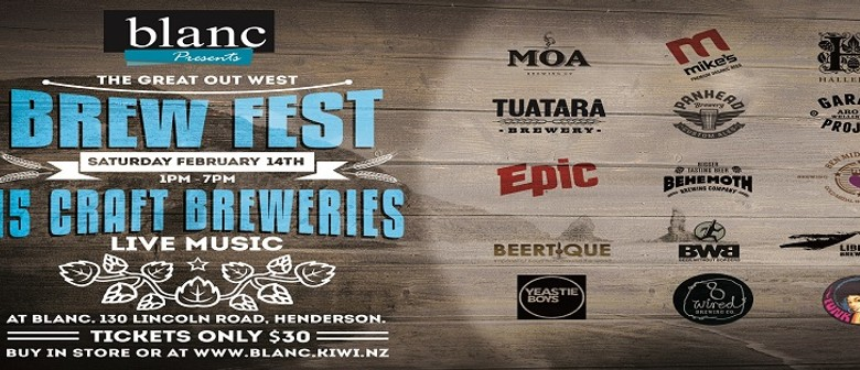 The Great Out West Brew Fest
