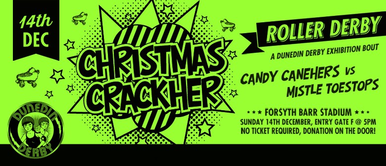Roller Derby Christmas CrackHer
