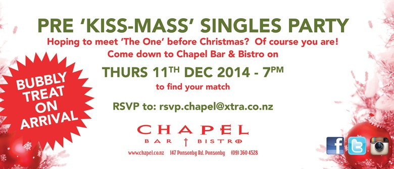 Pre 'Kiss-Mass' Singles Party
