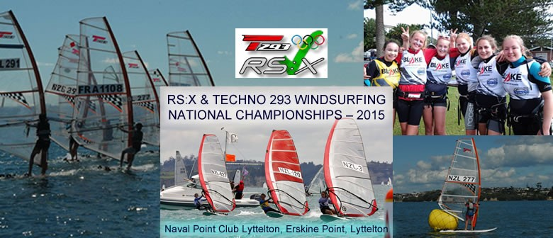 RS:X & Techno 293 Windsurfing National Championships