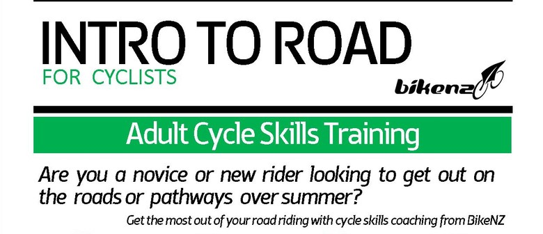 BikeNZ Intro to Road & Everyday Cycling Adult Programme