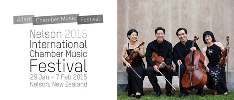 Adam Chamber Music Festival  - The Ying Quartet in concert
