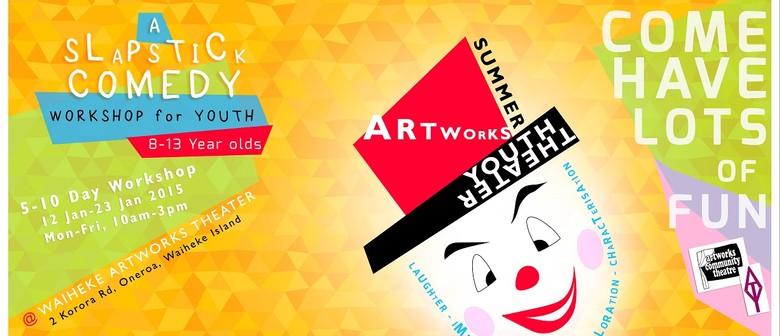 Artworks Youth Theatre Summer Slapstick Workshop