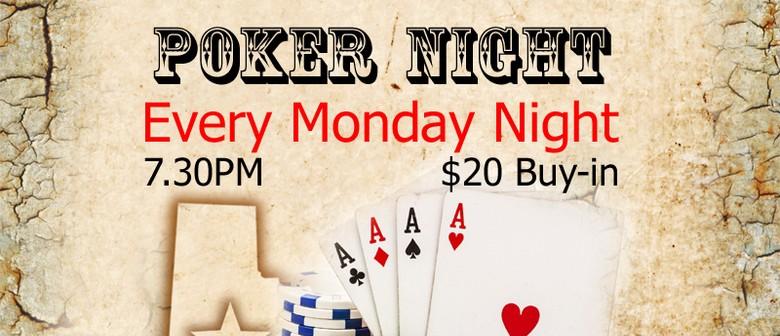 Texas Hold'em Poker & Whisky Night