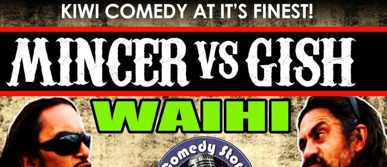 Gish vs. Mincer Summer Comedy Tour