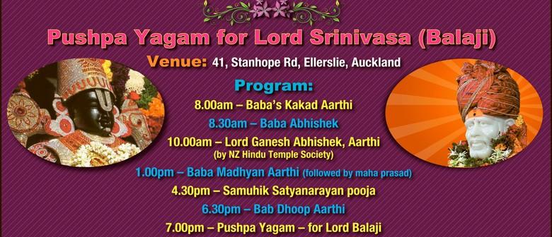 Lord Balaji Pushpa Yagam - Sri Satyanarayana Maha Pooja