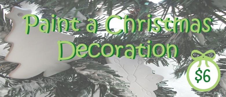 Paint a Christmas Decoration