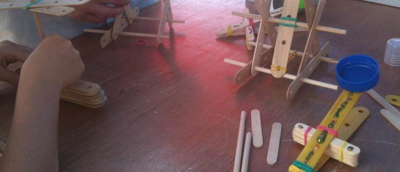 Workshops on the Wharf: Make & Take Mini Catapult