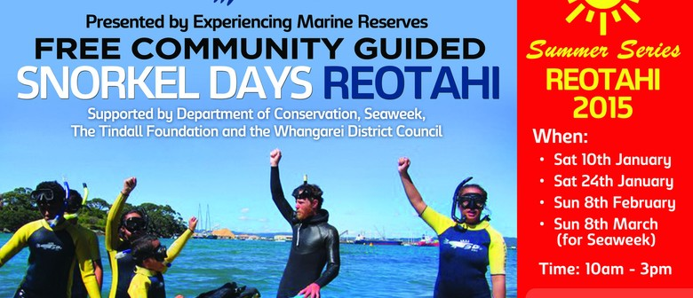 Community Guided Snorkel Days
