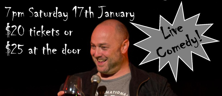 Brendhan Lovegrove & James Nokise Comedy Night