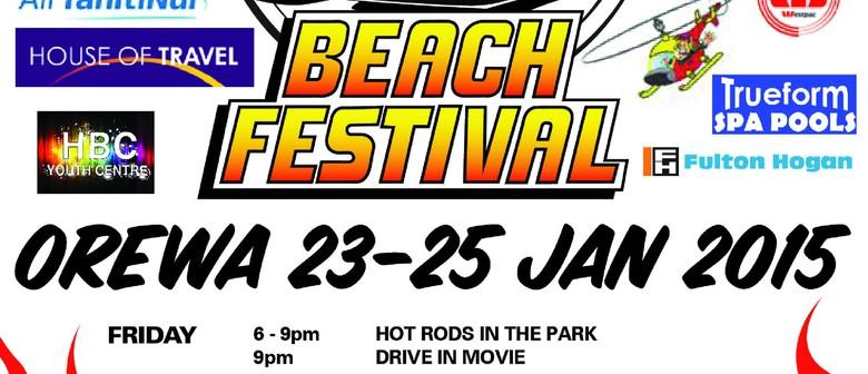 Hibiscus Rodders Beach Festival