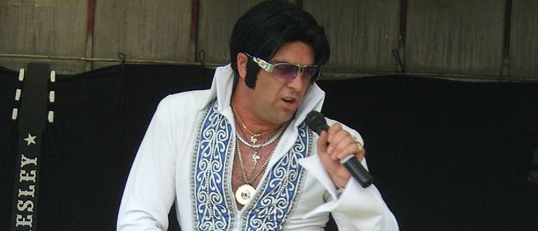 """Brendan Chase as """"Elvis Presley"""""""