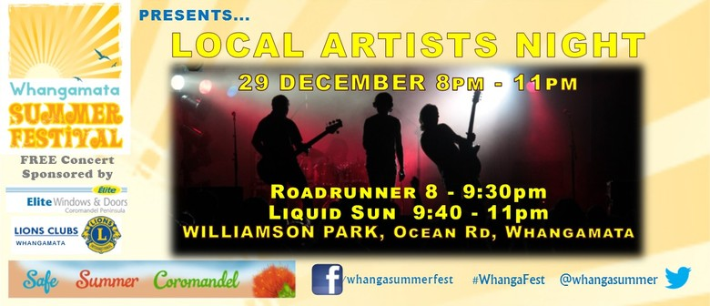 Local Artists Night: Roadrunner & Liquid Sun