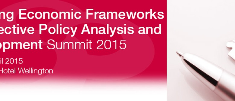 Applying Economic Frameworks for Effective Policy Summit