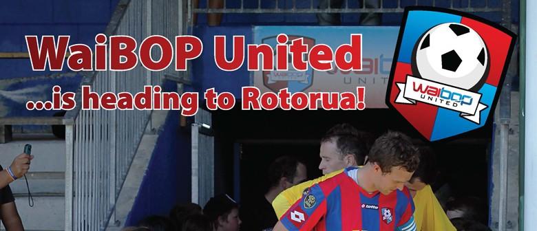 WaiBOP United v Hawkes Bay United Football