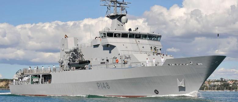 Navy Warship, HMNZS OTAGO, Open to the Public
