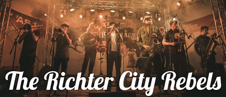 Hurricane Party - The Richter City Rebels