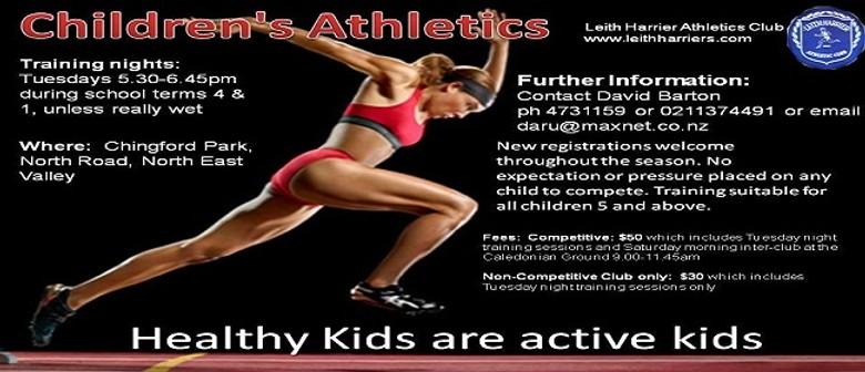 Childrens Athletics Training