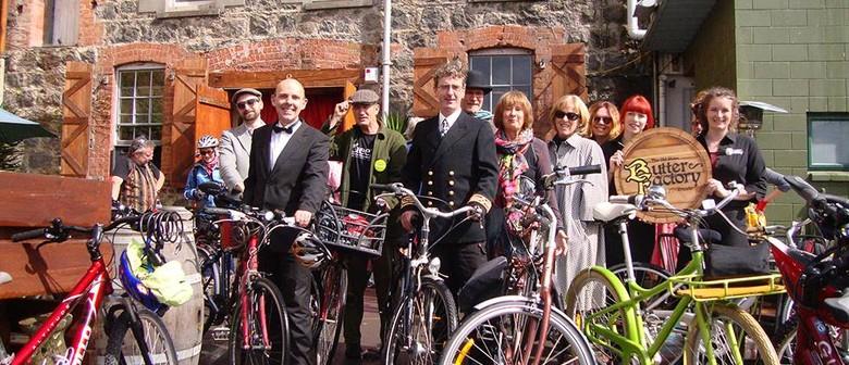 Frocks & Fashionable Fellows on Bikes