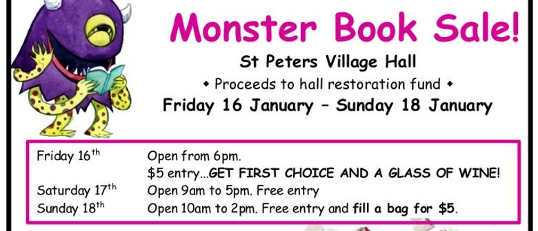 Monster Book Sale