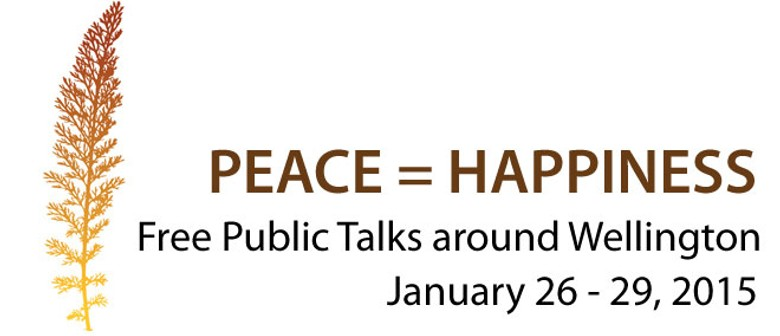 Public Talk: Peace = Happiness