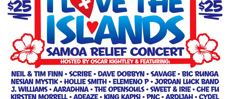 I Love The Islands Samoa Relief Concert