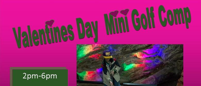 Valentines Day Mini Golf
