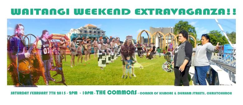 Waitangi Weekend Extravaganza