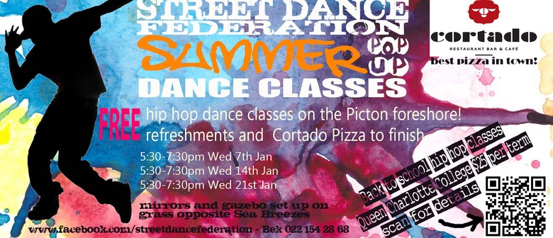 Outdoor Hip Hop classes with Street Dance Federation