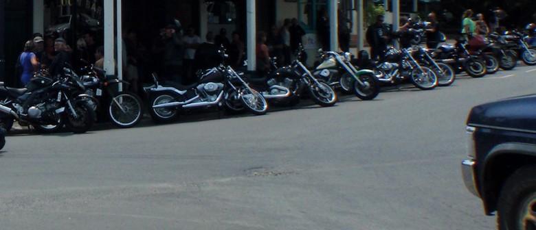 Te Aroha Annual Motorcycle and Classic Car Poker Run