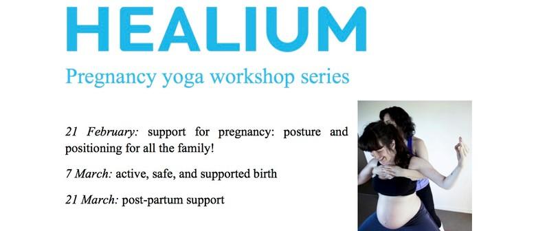 Pregnancy Yoga Workshop Series