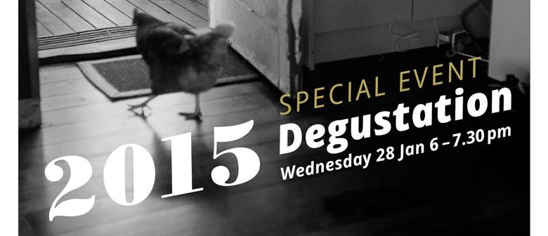 Depot Artspace 2015 Degustation