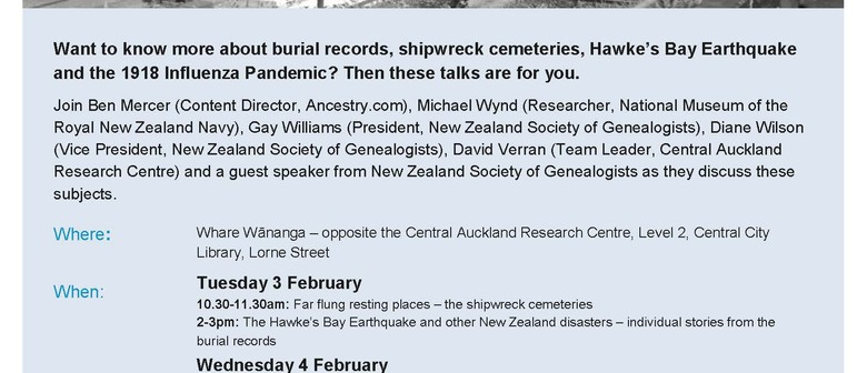 New Zealand Cemeteries Heritage Week with Ancestry