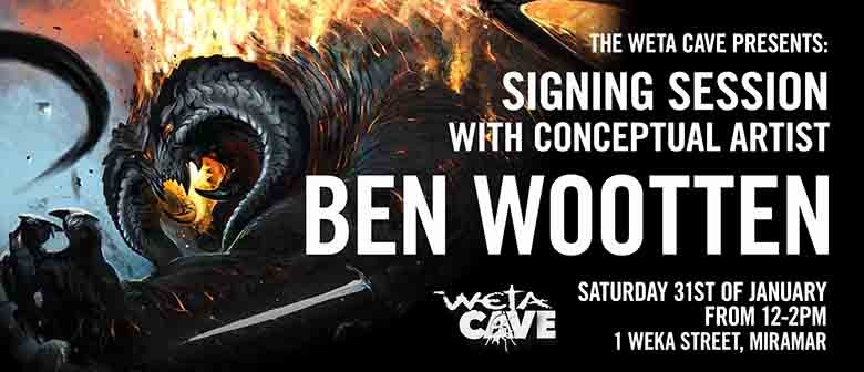 Signing Session with Artist Ben Wootten