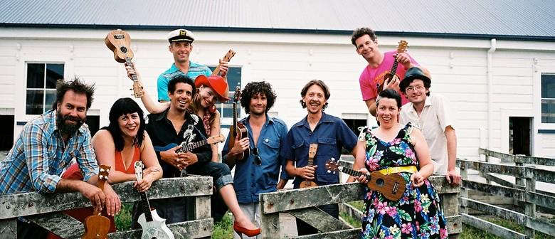 Wellington International Ukulele Orchestra Spring Tour 2009