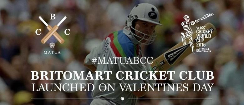 Matua Britomart Cricket Club Launch