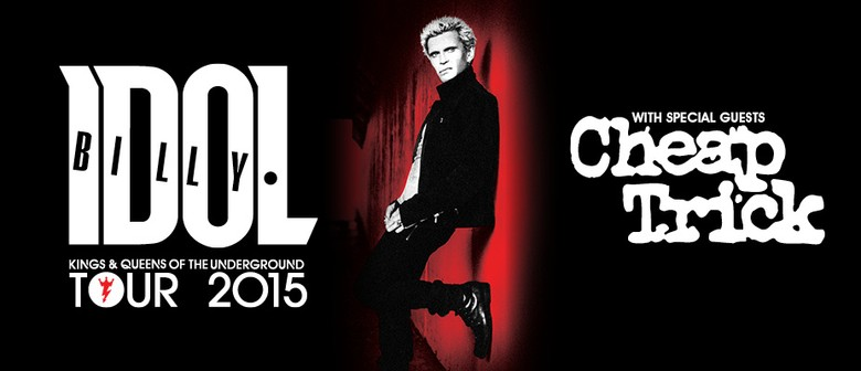 Billy Idol with Cheap Trick & The Angels