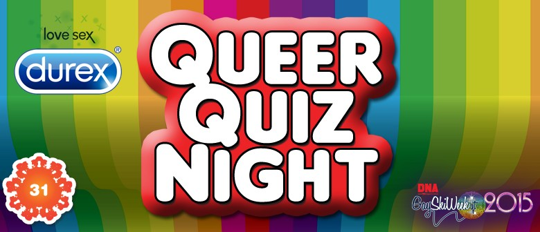 Durex presents Queer Quiz night!