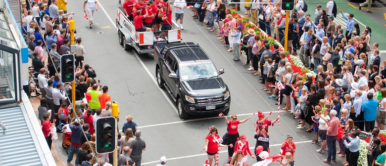 Sevens Wellington Street Parade