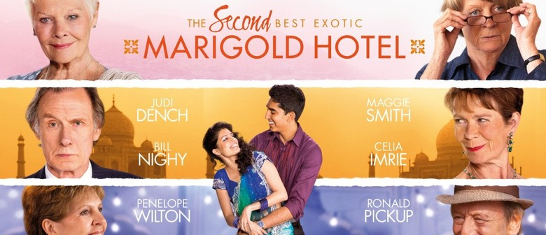 Second Best Exotic Marigold Hotel Opening Night Event