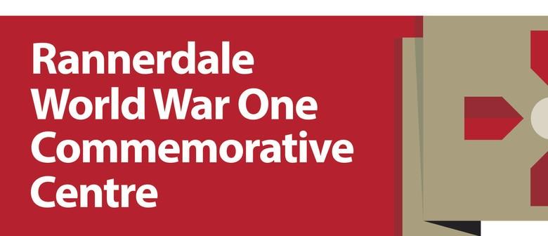 Rannerdale World War One Regimental Dinner