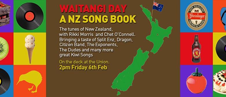 Waitangi Day - NZ Song Book