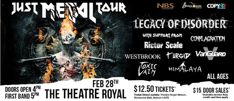 Black Orchard Music presents Just Metal Tour