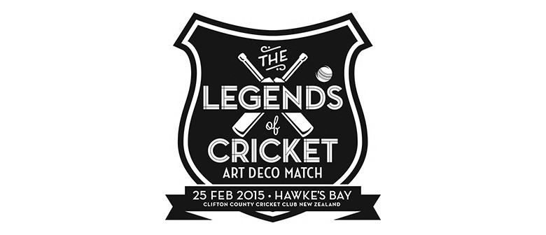 The Legends of Cricket Art Deco Match