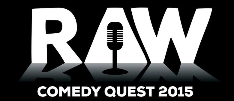 The 2015 RAW Comedy Quest - Semi Finals