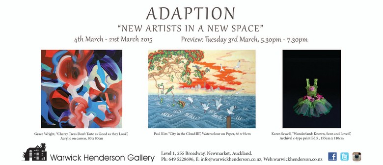 Adaption - New Artist in a New Space