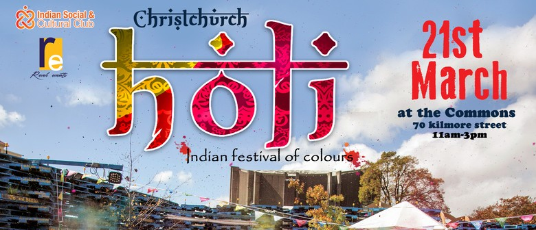 Christchurch Holi – Indian Festival of Colours
