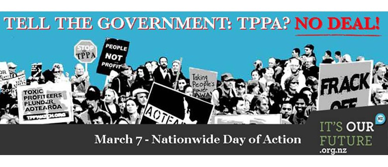 International Day of Action Against the TPPA