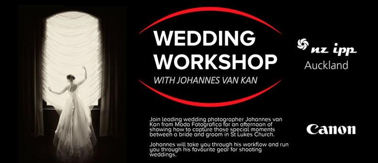 NZIPP/Canon Wedding Workshop with Johannes Van Kan