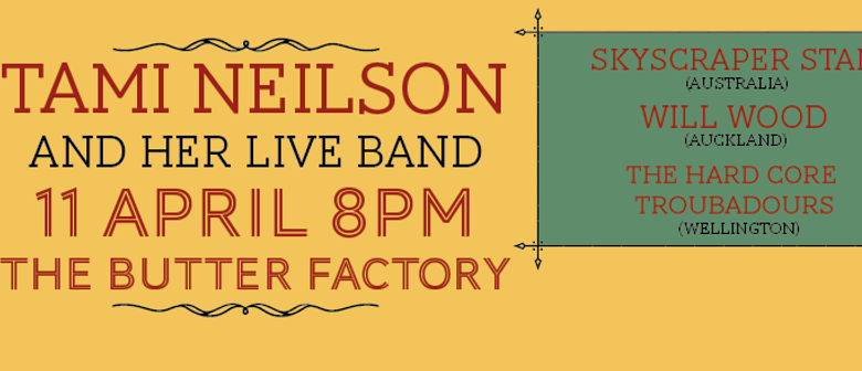 Tami Nielson with her Dynamic Band + Special Guests
